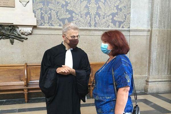 L'avocat des plaignants, Me Christophe Leguevaques, à la Cour d'appel de Lyon