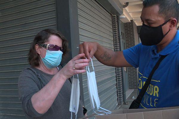 Une distribution de masques est organisée par la municipalité de Val-de-Reuil