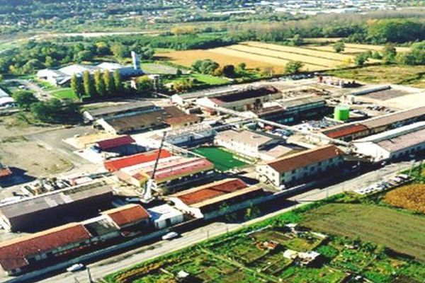 L'usine PCAS de Bourgoin