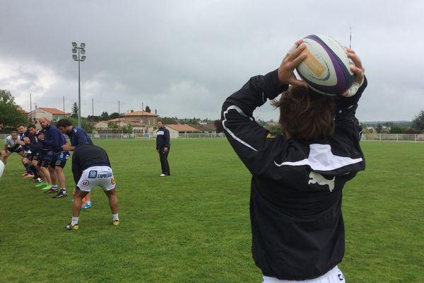 Dernier entraînement du SAXV avant le match contre Bourg-en-Bresse