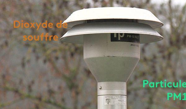 Cinq polluants sont aujourd'hui mesurés et inclus dans le mode de calcul de l'indice.