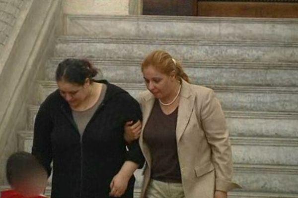 La famille du jeune Amar à la sortie du tribunal le 12 juin 2013