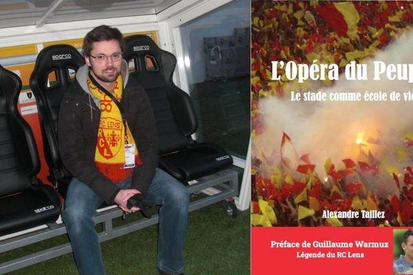 Le fan invétéré du RC Lens vient de publier un livre sur son histoire avec le club.