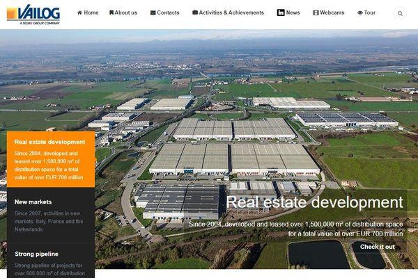 Vailog est une société italienne spécialisée dans l'immobilier logistique