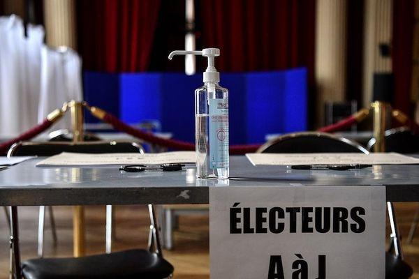 Un vote sous protection sanitaire