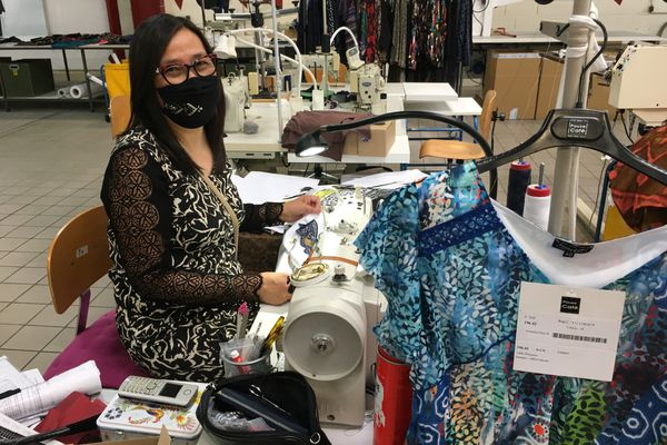 A Savipole, la PME Ryvia bataille pour maintenir son activité textile