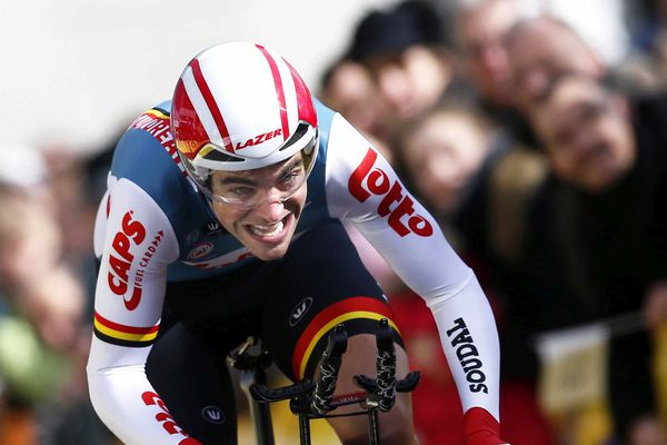 Tony Gallopin (Lotto Souda Team) lors du prologue du Paris-Nice