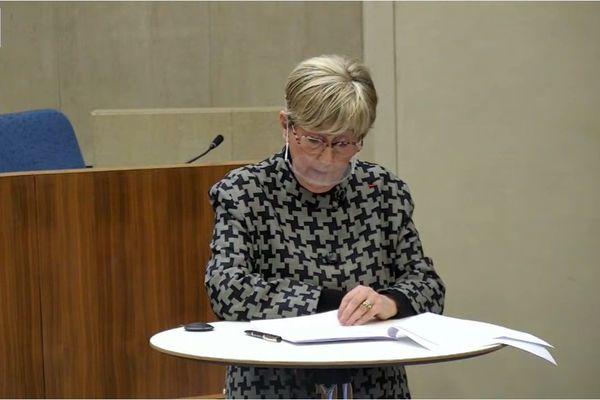 Dominique Lorenzi-Bry lors de la conférence régionale des acteurs Centre-Val de Loire