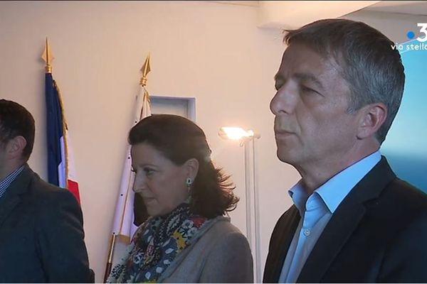 Agnès Buzyn est venue rencontrer et soutenir Didier Medori, 48e sur la liste La République en marche, à Bigornu vendredi 10 mai.