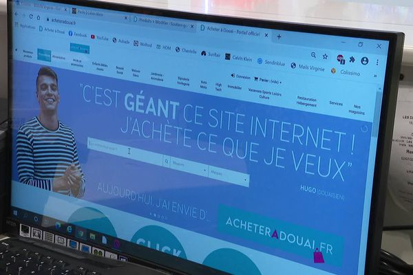Les Douaisiens peuvent désormais acheter en ligne les articles des commerçants indépendants.