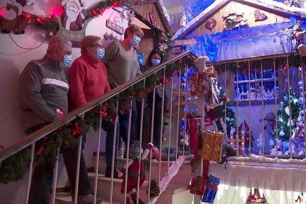 Covid ou pas, impensable pour tous les voisins de ne pas faire honneur à l'Esprit de Noël