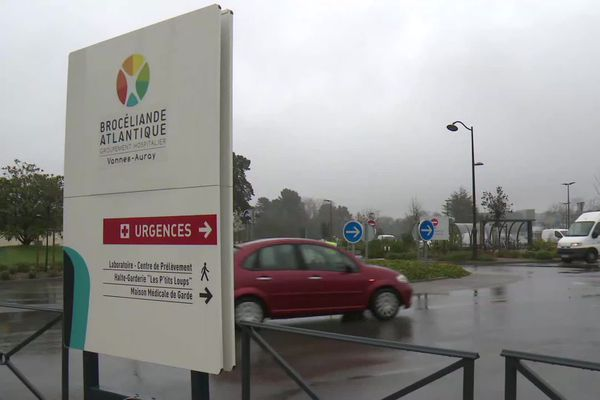 Les urgences de l'hôpital de Vannes ont vu l'agression de deux infirmières