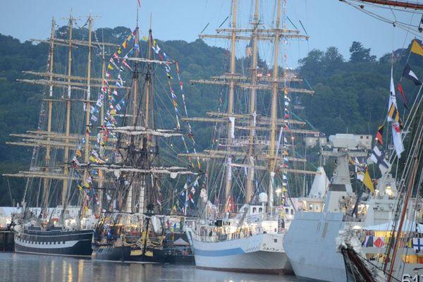 Les bateaux largueront les amarres à partir de dimanche à 9h25