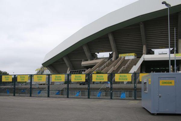 À la Beaujoire cet après-midi, moins de 5000 supporters assisteront au match du FC Nantes contre Nîmes.