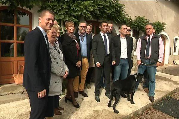 Première conférence du groupe Front National du conseil régional de Bourgogne Franche-Comté depuis la démission de Sophie Montel, ex-présidente de ce groupe