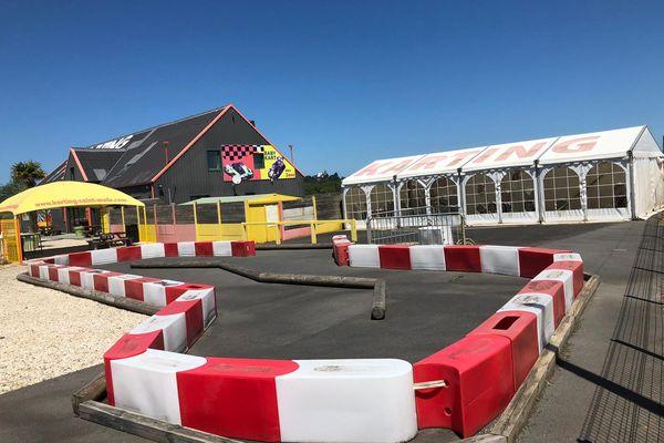 Le circuit de karting de Saint-Méloir-des-Ondes