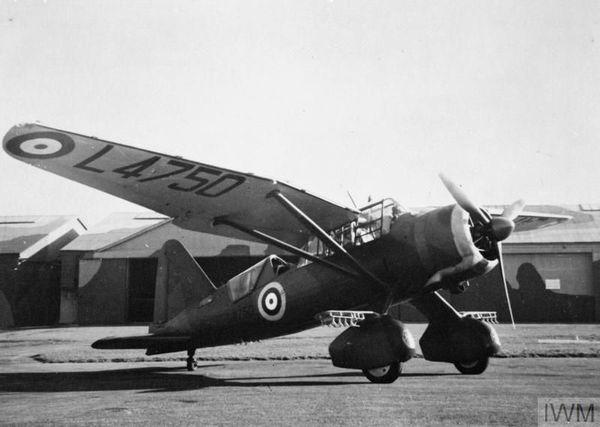 Un Westland Lysander pendant la Seconde Guerre Mondiale (photo non datée).