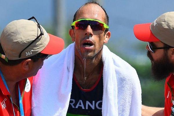 Yohann Diniz, à l'issue du 50 km marche - Rio