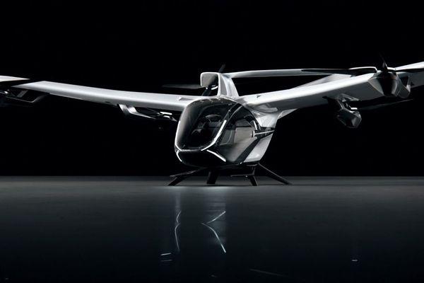 CityAirbus Nextgen, le nouveau concept de taxi volant urbain dévoilé par Airbus.