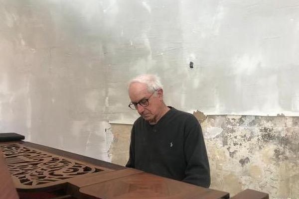 Samuel Maman et son nouveau piano offert grâce à un formidable élan de générosité