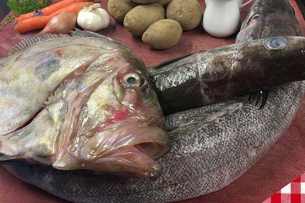 Les ingrédients du hachis parmentier de merlu