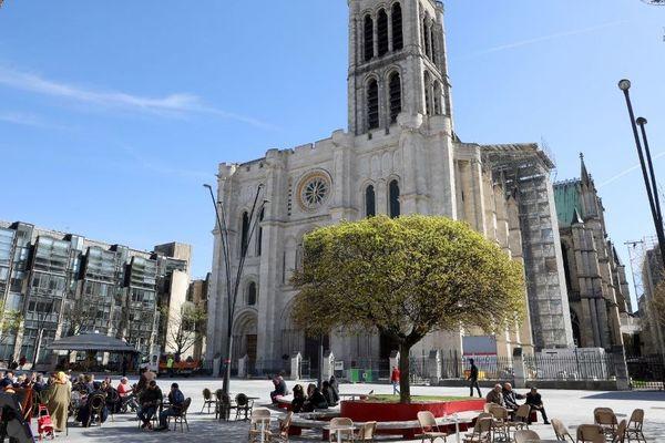 Il y a un mois, la Basilique Saint-Denis avait été vandalisée.