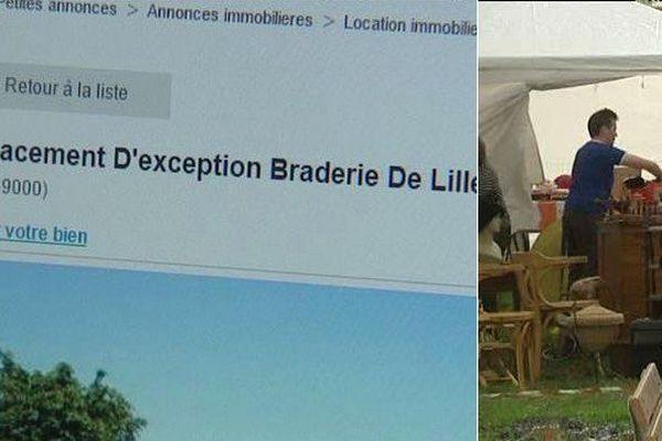 Sur le Bon Coin, on peut trouver des emplacements à 1700 euros !
