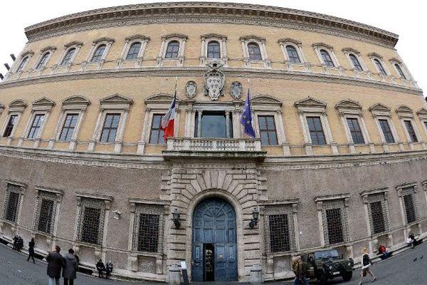 """Le 27 juin 2014, sur la place Farnese, devant l'ambassade de France à Rome,  un grand concert de """"l'amitié franco-italienne"""" est prévu"""