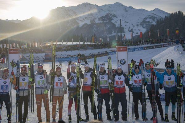 Norvège, Allemagne, France, le tiercé gagnant du relais d'Hochfilzen en Autriche.