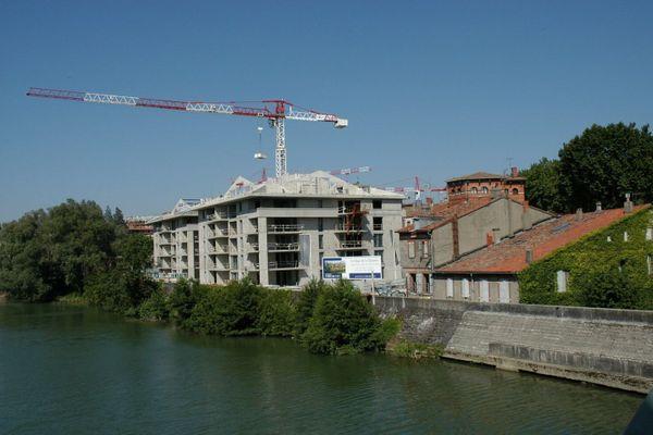 La ville rose n'échappe pas à la tendance nationale de baisse des prix de l'immobilier.
