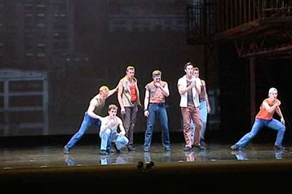 « West Side Story » 1er janvier 2013 au Théâtre du Châtelet.