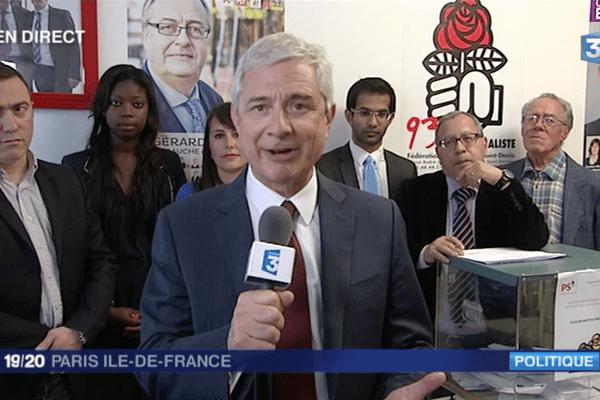 Claude Bartolone sur France 3 Paris IDF