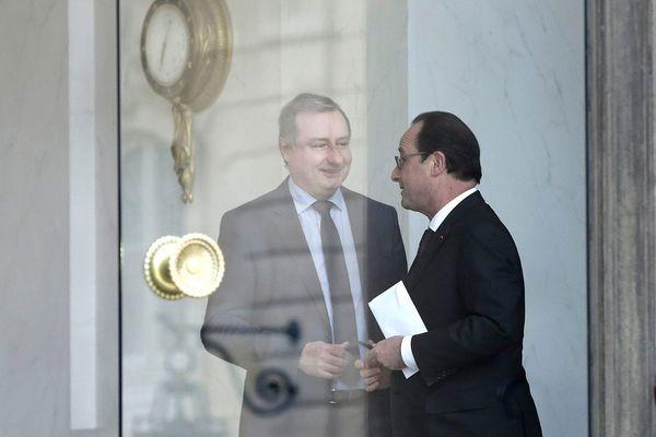 François Hollande et Jean-Luc Moudenc