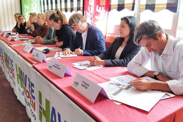 La gauche unie pour soutenir Jean-Paul Lecoq au second tour des municipales au Havre.