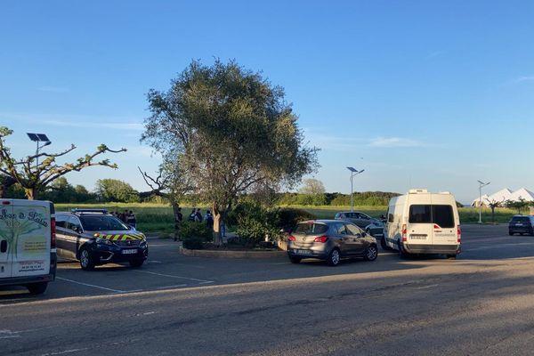 L'opération de gendarmerie est toujours en cours ce lundi 3 mai, en soirée.
