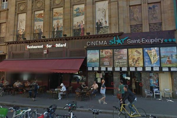 Parmi les cinémas participants, le Star Saint-Exupéry à Strasbourg.