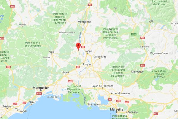 Le séisme se serait produit à 2 km de la commune de Bagnols-sur-Cèze, dans le Gard.