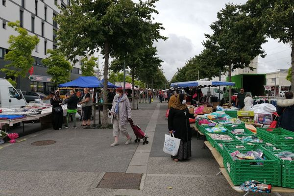 Le marché de la Guérinière : le quartier a retrouvé son calme habituel