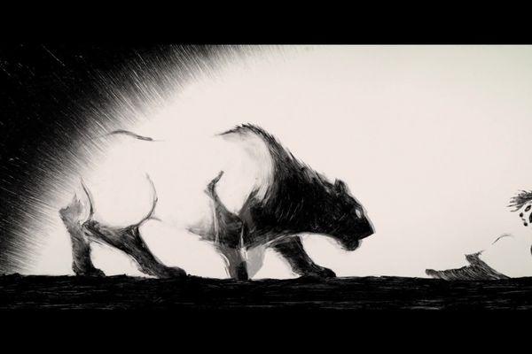 """""""Traces"""", un film d'animation co-réalisé par le clermontois Hugo Frassetto et la lyonnaise Sophie Tavert, passionnée de préhistoire & produit par Les Films du Nord présélectionné pour les Oscars"""