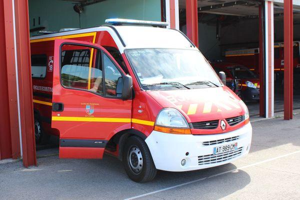 les pompiers du Gers ont procédé au sauvetage de 12 chevaux piégés par une inondation à Preignan dans le Gers. Photo d'illustration.