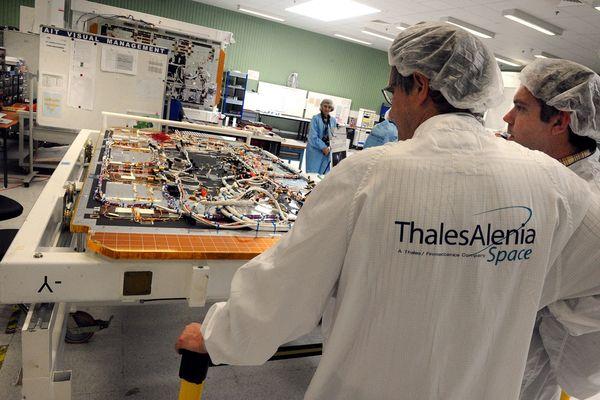 Le site Thales Alenia Space de Toulouse.