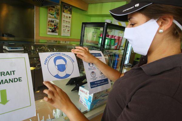 Le port du masque obligatoire dans les magasins entre en vigueur ce lundi 20 juillet