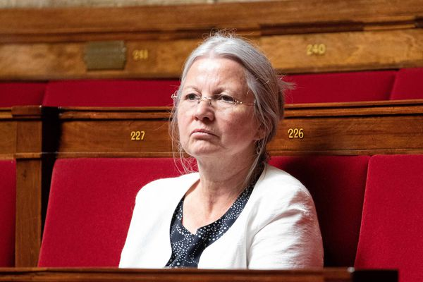 Agnès Thill à l'Assemblée nationale le 2 juillet 2019