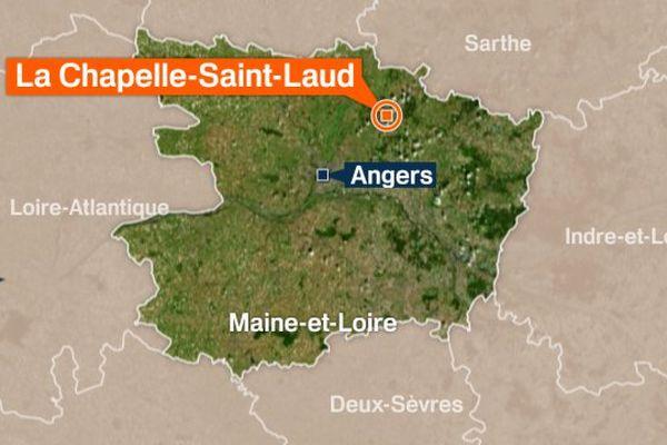 La Chapelle-Saint-Laud (Maine-et-Loire)