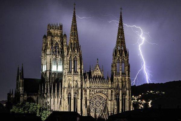 L'abbatiale Saint Ouen, à Rouen