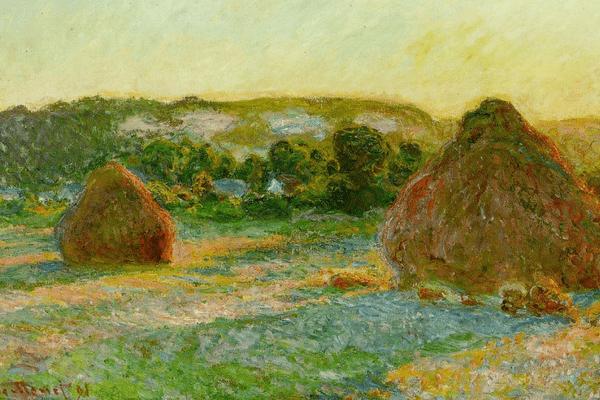 Meules (fin de l'été) de Monet (1890 - 1891)
