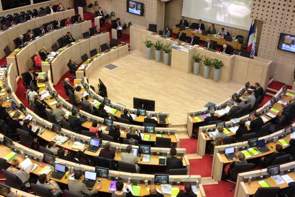 Session extraordinaire du Conseil régional sur la réforme territoriale