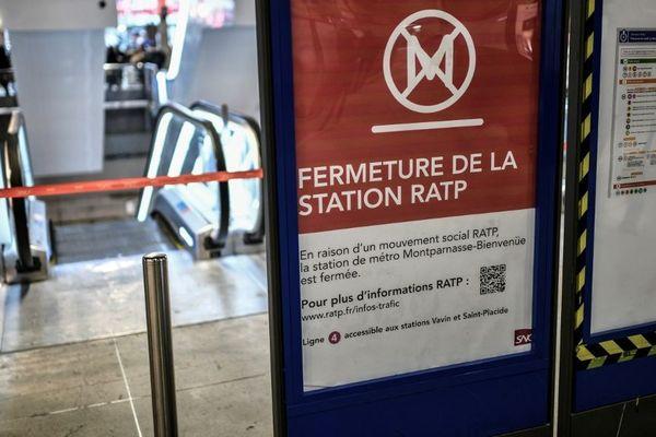 Plusieurs stations de métro seront fermées ce mardi.