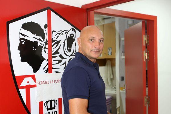 Olivier Pantaloni, l'entraîneur de l'ACA.