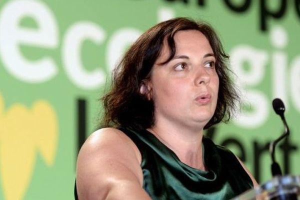 La secrétaire nationale d'Europe Ecologie-Les Verts Emmanuelle Cosse